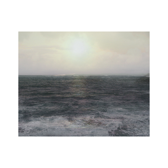 "© Amy Elkins, ""Four Years Out of a Death Row Sentence (Ocean), 2011,"" from ""Black is the Day, Black is the Night."""