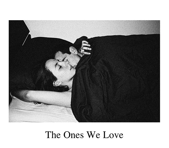 The homepage of The Ones We Love, featuring a photo by Tatjana Suskic.
