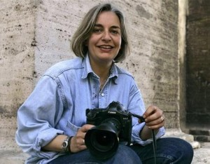 Anja Niedringhaus in 2005. ©Associated Press/Peter Dejong