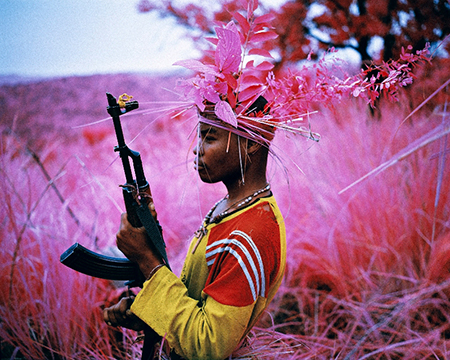 "Richard Mosse, ""Safe From Harm,"" North Kivu, eastern Congo, 2012, © Richard Mosse, Courtesy of the artist and Jack Shainman Gallery."