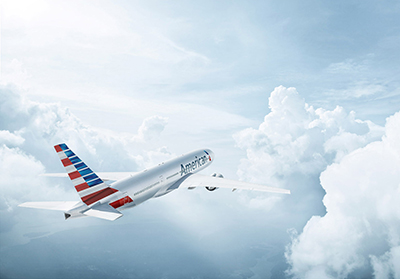 An image for American Airlines' branding campaign. ©Erik Almås