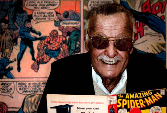 Stan Lee. Photo © Seth Kushner
