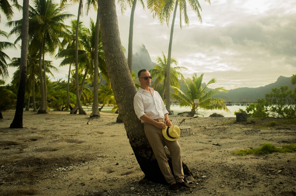 Bora Bora with Andrew O'Hagan. Travel feature for The Guardian W