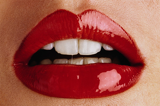 "A print of Ormond Gigli's ""Lips"" is estimated to fetch between $10,000-$15,000."