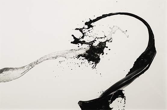 "Shinichi Maruyama's mural-sized print of ""Kusho #2"" is expected to sell for between $15,000-$20,000."