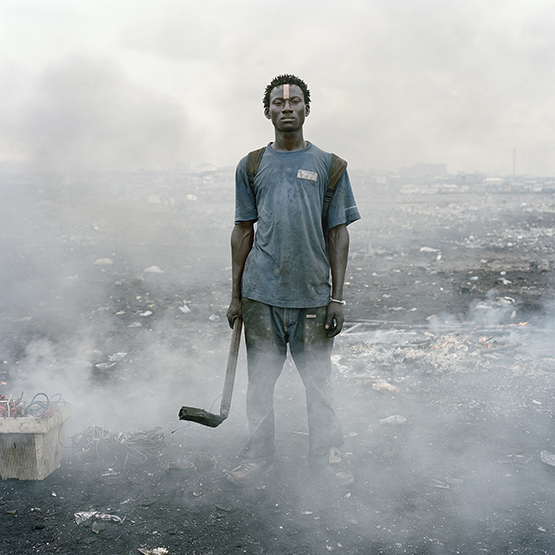 "Pieter Hugo was shortlisted for ""Permanent Error,"" his project on an informal electronic waste dump in Ghana."