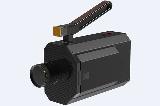 Artist rendering of Kodak's forthcoming Super 8 camera.