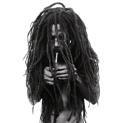 """Rastafarian Smoking a Joint"" ©Donald Graham"
