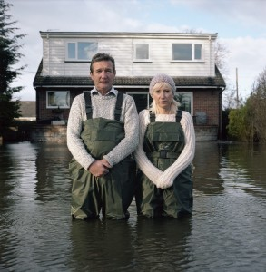 Jeff and Tracey Waters, Staines-upon-Thames, Surrey, UK. From Gideon Mendel for Pollock Prize
