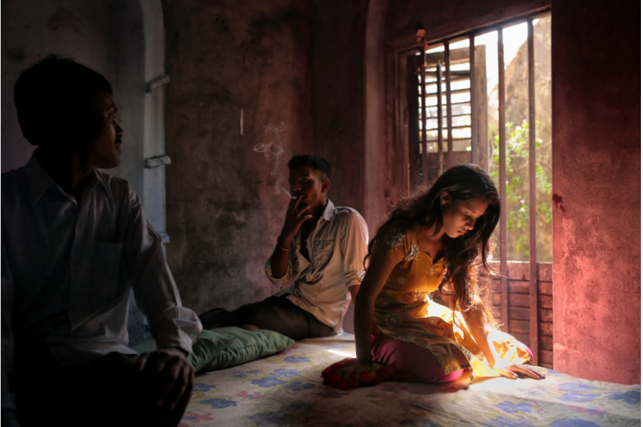 Photo © Souvid Datta. From his long-term project 'Vanishing Girls of West Bengal'