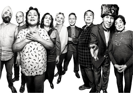 """Photos © Platon. From New York's story, """"44 Immigrants on Living in a Sanctuary City."""" That's Claire Procopio on the right."""