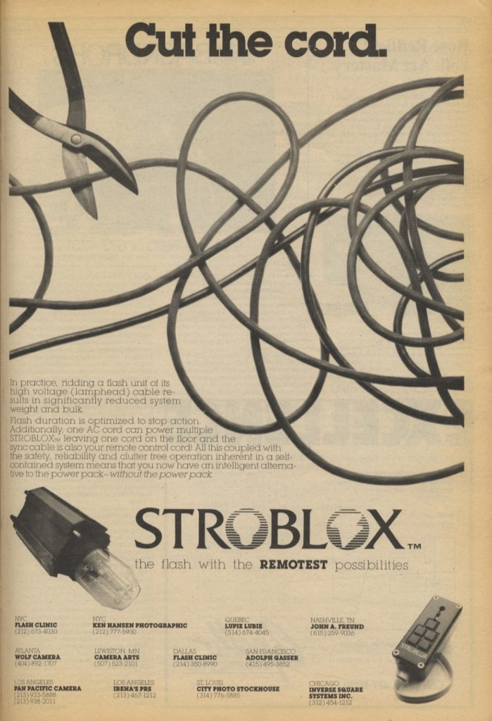 Photography Ads of Yore: Cut the Cord