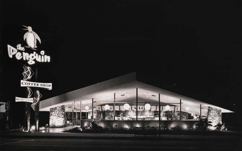 southern California, Googie architecture, Jack Laxer, architectural photography