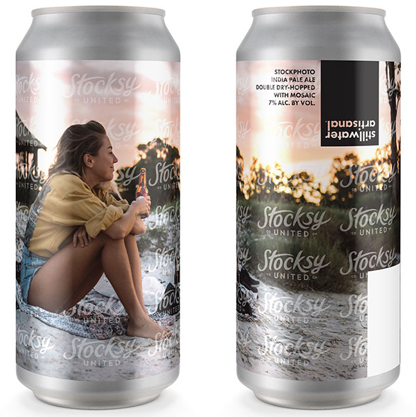 "Stillwater Brewery's ""Stockphoto IPA"" Pokes Fun at Typical Beer Marketing 